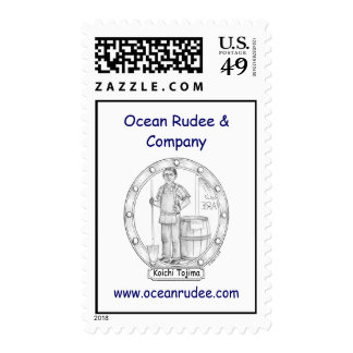 Koichi Tojima Portrait USPS Postage Stamp