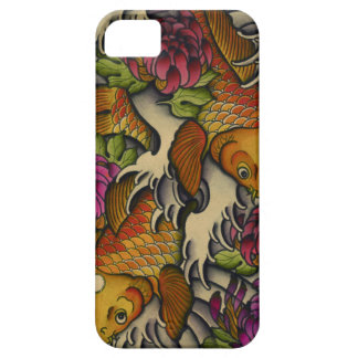 Kois and Chrysanthemums iPhone 5 Covers