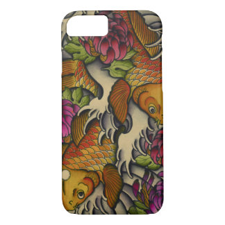 Kois and Chrysanthemums iPhone 7 Case