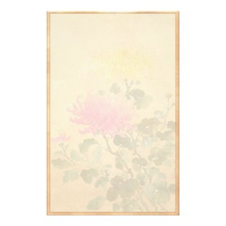 Koitsu Tsuchiya Chrysanthemum japanese flowers art Stationery