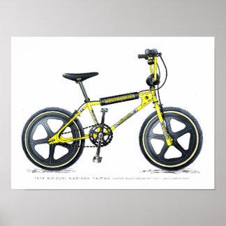 Koizumi Madison Taipan LixBMX Vintage BMX Sketch Poster