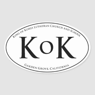 KoK Car Window Sticker