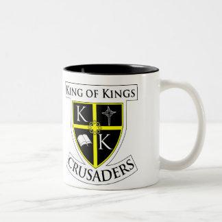 KoK Crusader Shield, KoK Crusader Shield Two-Tone Coffee Mug