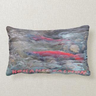 Kokanee Salmon Lumbar Pillow