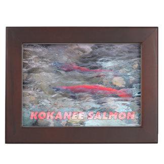 Kokanee Salmon Memory Box