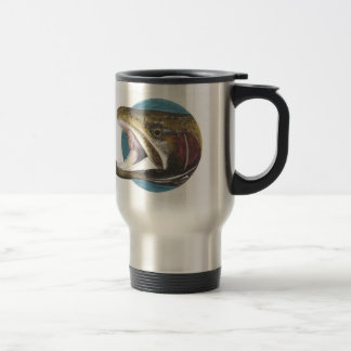 Kokanee Salmon Oncorhynchus nerka double TravelMug Travel Mug