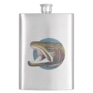 Kokanee Salmon Oncorhynchus nerka Large Flask