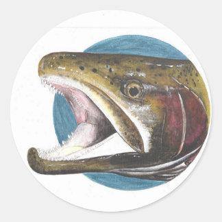 Kokanee Salmon Oncorhynchus nerka Sticker