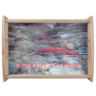 Kokanee Salmon Serving Tray