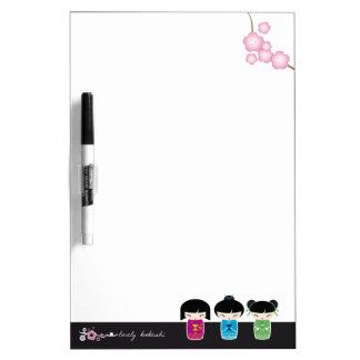 Kokeshi board Dry-Erase board