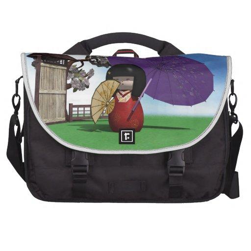 Kokeshi Doll Bag For Laptop