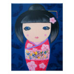 Kokeshi Doll - Harumi Posters
