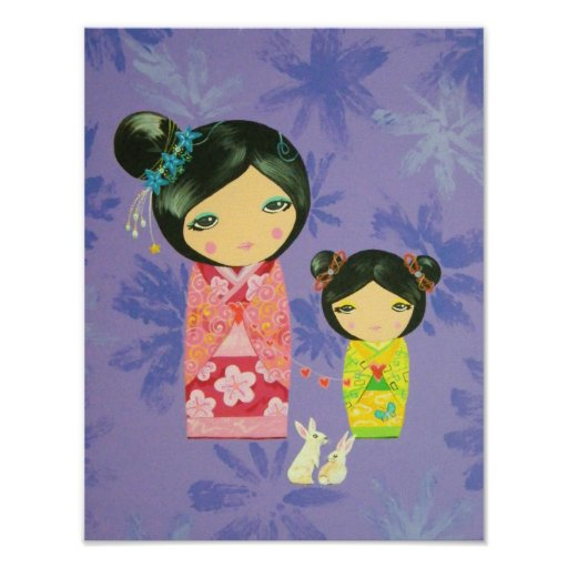 Kokeshi Doll - Love Binds Us Together Poster