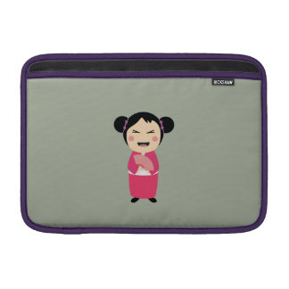 kokeshi doll MacBook air sleeves