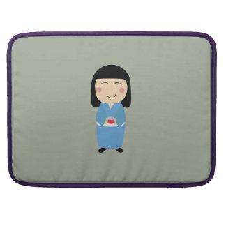 kokeshi doll MacBook pro sleeves