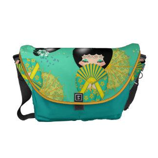 Kokeshi Doll Messenger Bag
