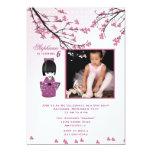 Kokeshi Doll Photo Invitation