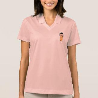 kokeshi doll polo shirt