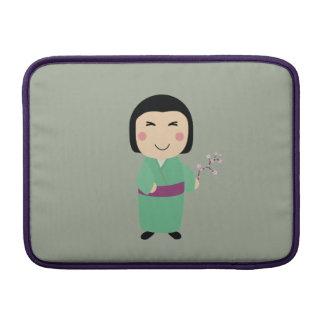 kokeshi doll sleeve for MacBook air