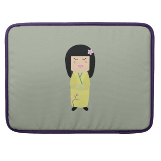 kokeshi doll sleeve for MacBook pro