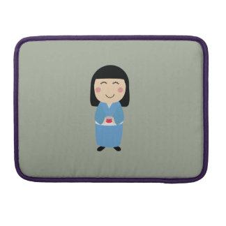 kokeshi doll sleeve for MacBooks