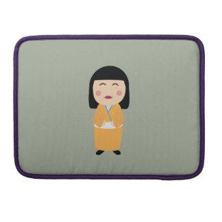kokeshi doll sleeves for MacBook pro