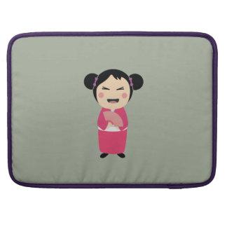 kokeshi doll sleeves for MacBooks