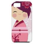 Kokeshi Funda Para iPhone SE/5/5s