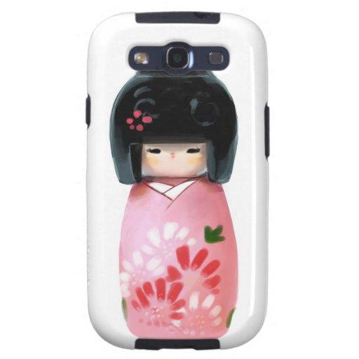 Kokeshi Galaxy S3 Coberturas