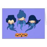Kokeshi ghosts card