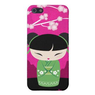 Kokeshi iPhone case - happiness