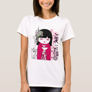 Kokeshi , Japanese doll, こけし T-Shirt