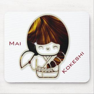Kokeshi Mai Mouse Pad