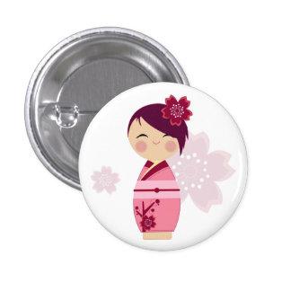 Kokeshi Sakura Pin