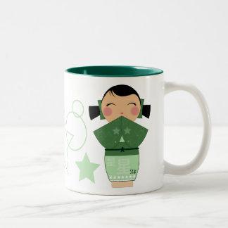 Kokeshi Star Mug