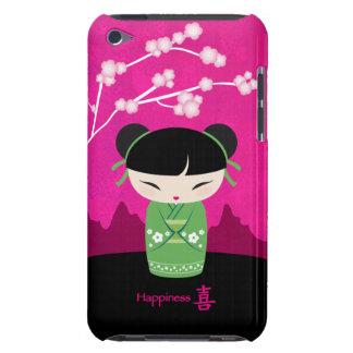 Kokeshi verde - caso del tacto de iPod Case-Mate iPod Touch Carcasas