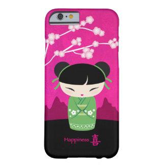 Kokeshi verde - felicidad funda barely there iPhone 6