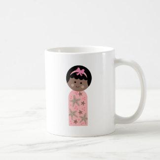 KokeshiKids4 Classic White Coffee Mug