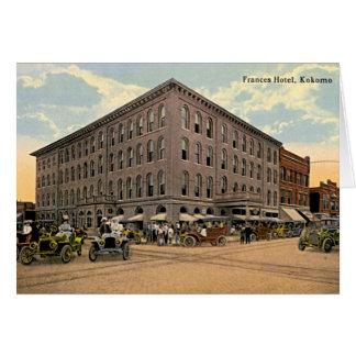 Kokomo, hotel 1910 de Indiana Frances Tarjeta De Felicitación