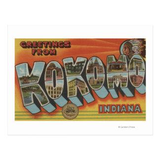 Kokomo Indiana - escenas grandes de la letra Postal