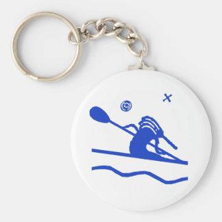 Kokopeli Kayak Paddler Keychain