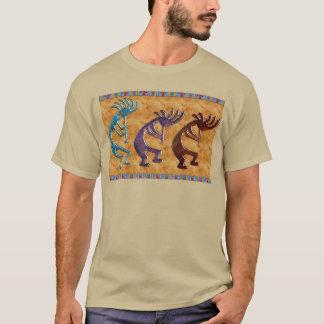 Kokopelli 3D Anasazi Native American Motif T-Shirt