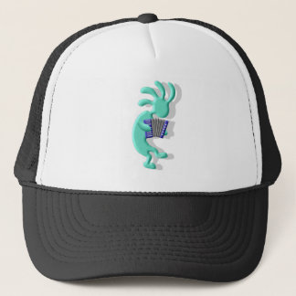 Kokopelli Accordion Trucker Hat