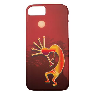Kokopelli and Red Sunset iPhone 8/7 Case