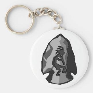 Kokopelli Arrowhead Keychain