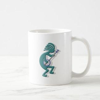Kokopelli Banjo Coffee Mug