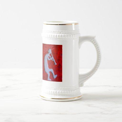 Kokopelli Beer Stein Coffee Mug