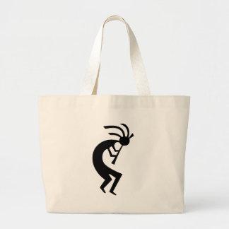 Kokopelli black design! bag