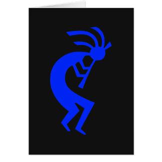 Kokopelli Blue Card