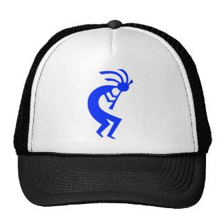 Kokopelli Blue Trucker Hat